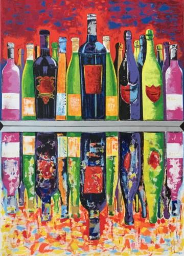 Flaschenspiegel